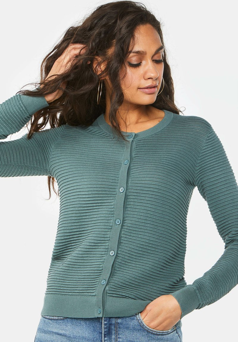 WE Fashion - Cardigan - greyish green