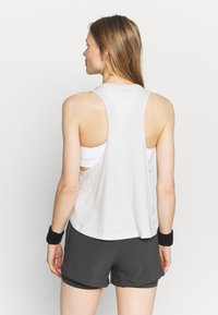 Under Armour - PROJECT ROCK IRON TANK - Top - summit white - 2