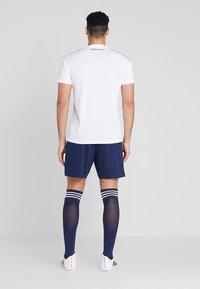 adidas Performance - PARMA PRIMEGREEN FOOTBALL 1/4 SHORTS - Korte sportsbukser - dark blue/white - 2