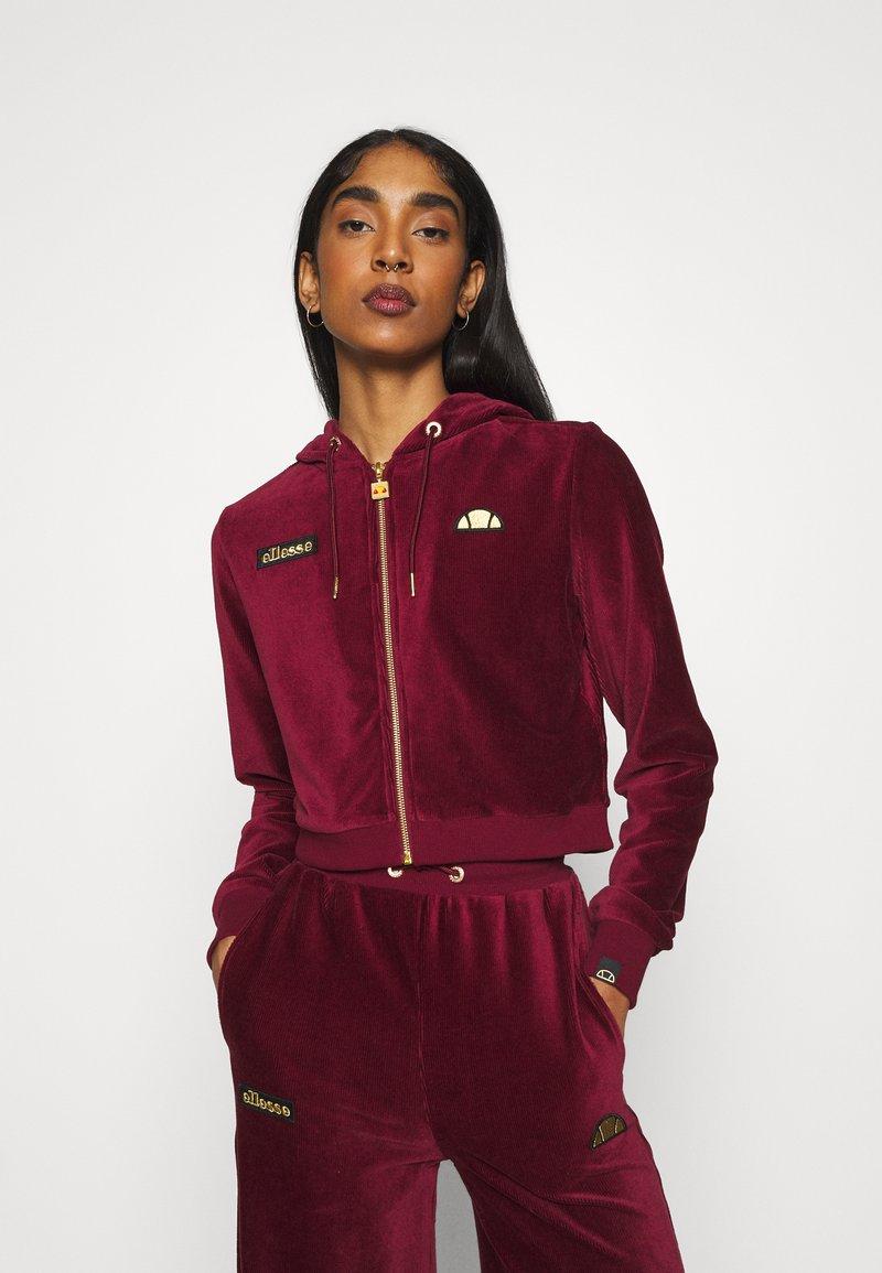 Ellesse - JUSTIA - Zip-up hoodie - burgundy
