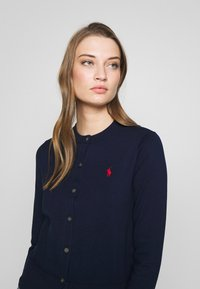 Polo Ralph Lauren - CARDIGAN LONG SLEEVE - Chaqueta de punto - bright navy - 3