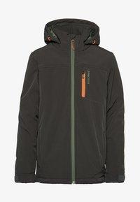 Protest - Snowboard jacket - dark green/mottled dark green/orange - 0