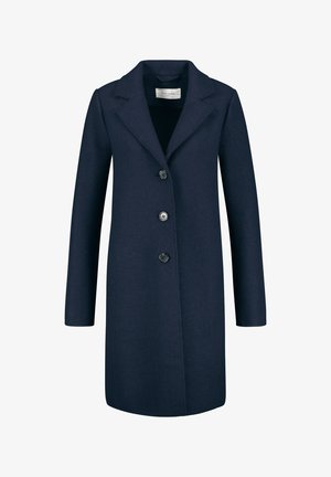 KURZ MIT WOLLANTEIL - Short coat - dark navy