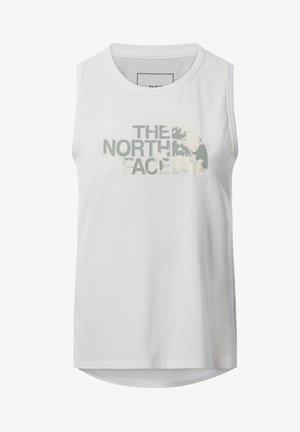 W FOUNDATION GRAPHIC TANK - EU - T-shirt de sport - tnf white