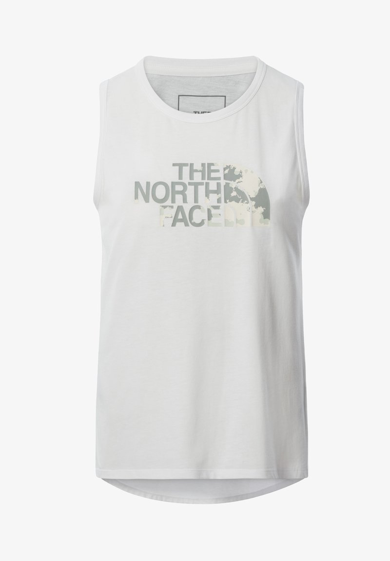 The North Face - W FOUNDATION GRAPHIC TANK - EU - Funktionströja - tnf white