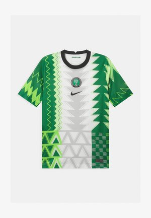NFF NIGERIA UNISEX - National team wear - white/black
