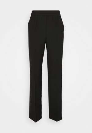 TROUSERS LARA - Bukser - black