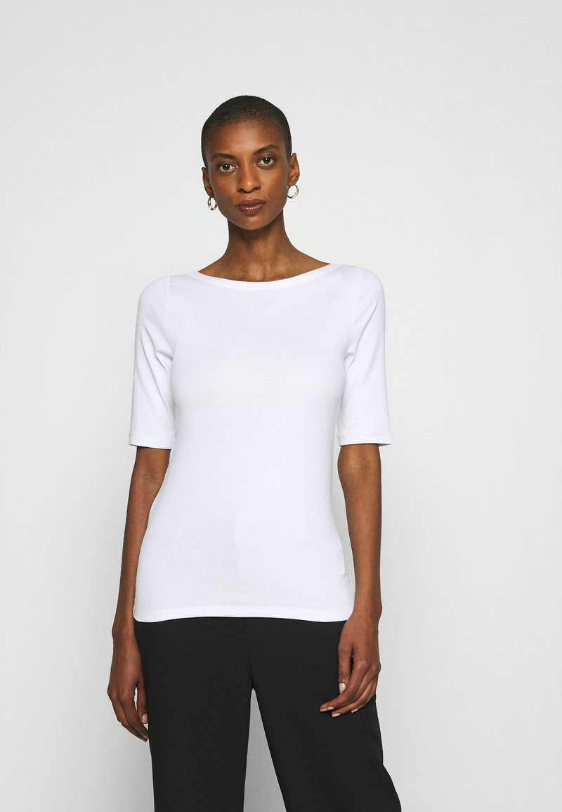 GAP - MOD BALLET - Basic T-shirt - optic white