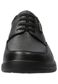 Mobils Ergonomic - SCHUHE EZARD - Casual lace-ups - black - 6
