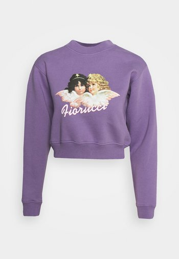 VINTAGE ANGELS  - Sweatshirt - purple