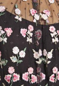 Needle & Thread - ROCOCO BODICE MAXI DRESS EXCLUSIVE - Společenské šaty - champagne/black - 6