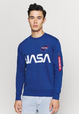 NASA REFLECTIVE - Sweatshirt - blue
