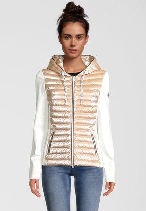 Light jacket - gold-coloured/white