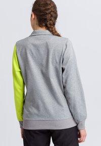 Erima - Sports jacket - grey/green - 2