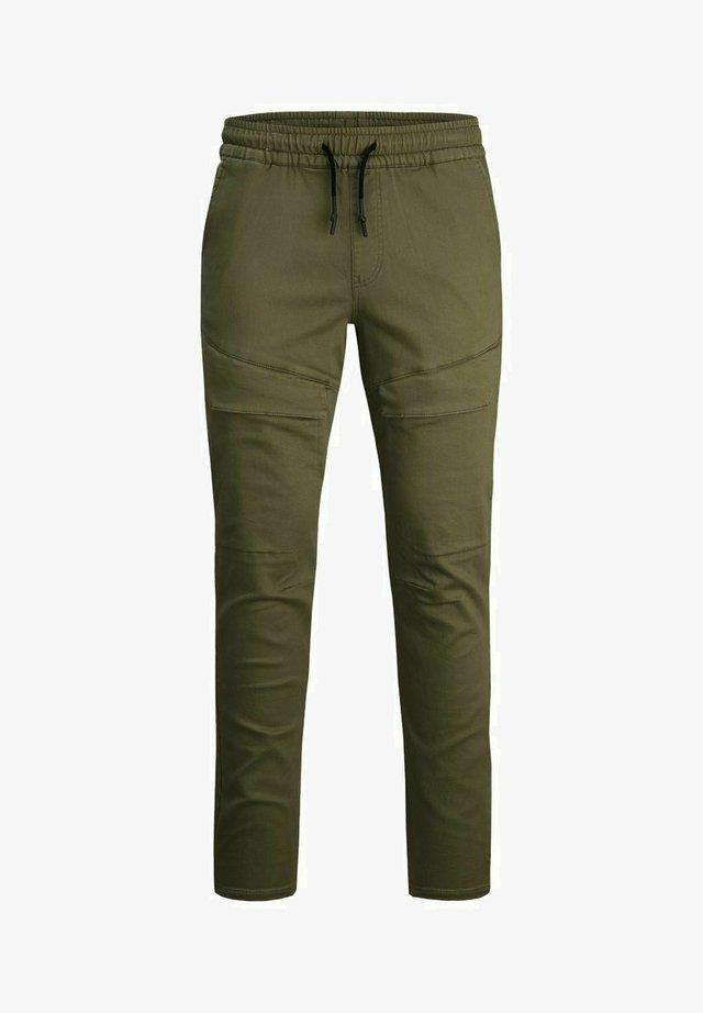 Pantaloni cargo - dusty olive