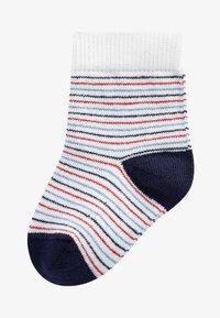 Next - 3 PACK BOAT SOCKS - Socken - red - 1