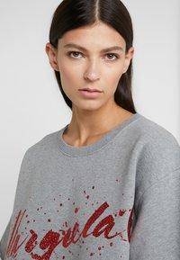 MM6 Maison Margiela - T-shirt imprimé - grey melange - 3