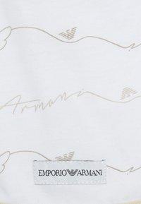 Emporio Armani - BABY SET - Bonnet - beige - 3