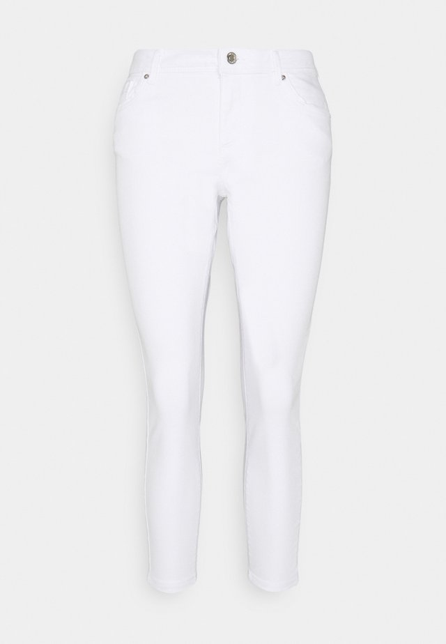VMTANYA PIPING PET - Jeans Skinny Fit - bright white