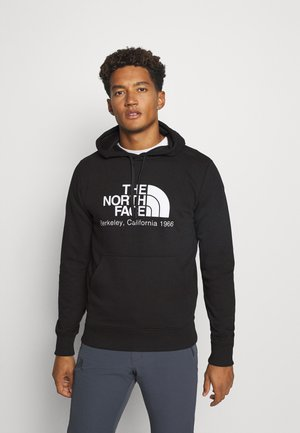 BERKELEY CALIFORNIA HOODIE - Collegepaita - black