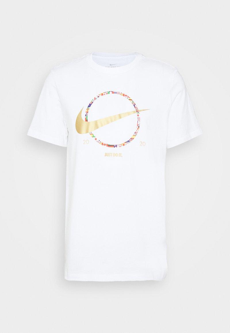 Nike Sportswear PREHEAT - T-Shirt print - black/schwarz n29Pby