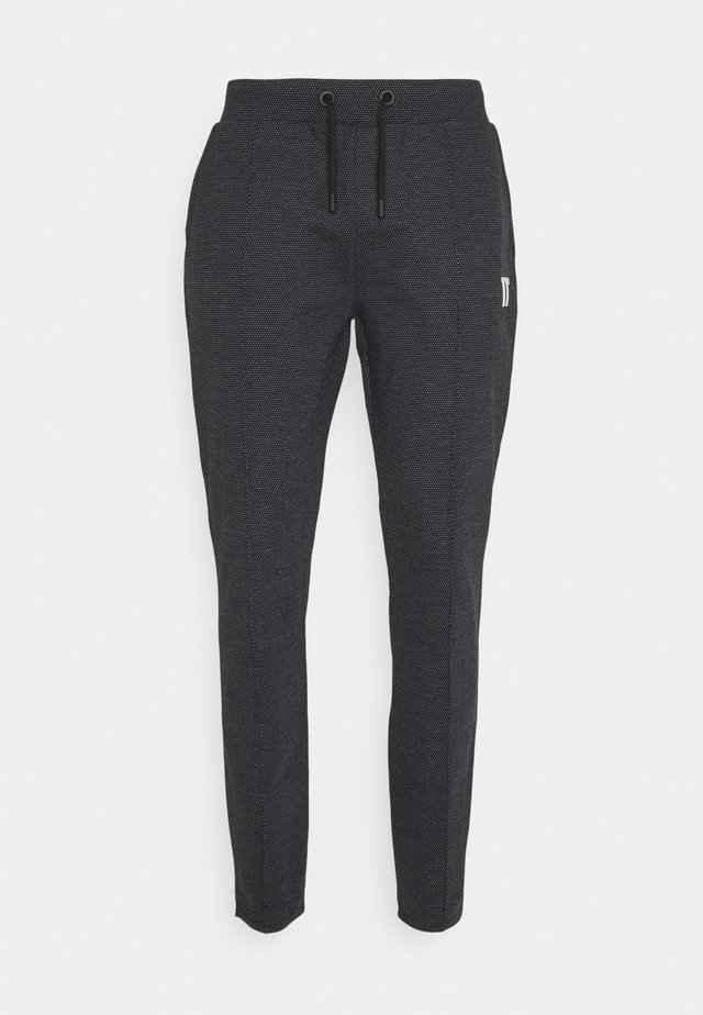 DEJA VU JOGGERS REGULAR FIT - Verryttelyhousut - black