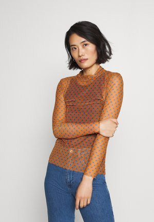 LONGSLEEVE - Long sleeved top - sunset orange