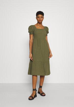 VMIDIRIS CALF DRESS - Day dress - ivy green