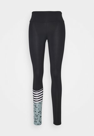 LEGGINGS SURF STYLE DOTS - Tights - slategrey