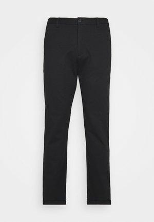 SUPERFLEX CROPPED PANTBIG - Pantaloni - black