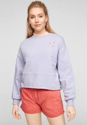 IM CROPPED-STYLE - Sweatshirt - lilac