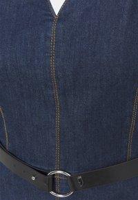 comma - Denim dress - blue denim - 2