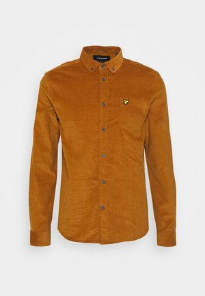 NEEDLE SHIRT - Vapaa-ajan kauluspaita - light brown