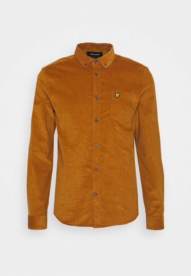 NEEDLE SHIRT - Skjorte - light brown