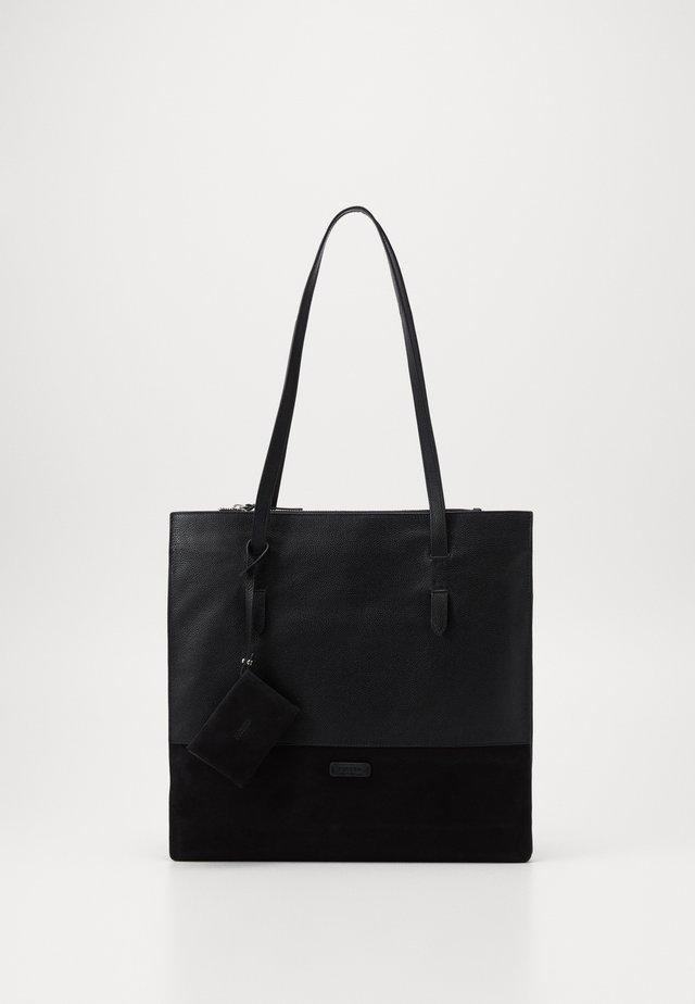 STOCKHOLM - Shopping bag - schwarz
