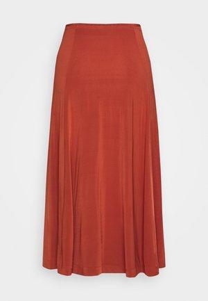 CORNEA SKIRT - Áčková sukně - picante