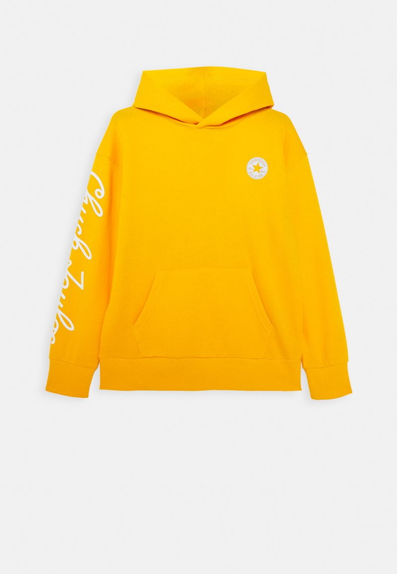 Converse - RELAXED CHUCK TAYLOR HOODIE - Hoodie - university gold