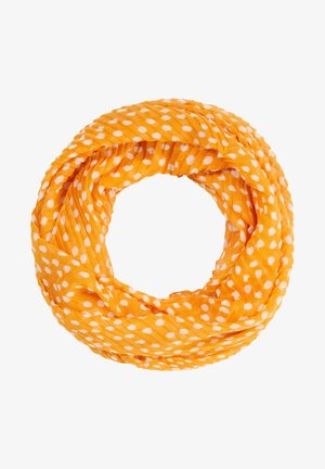 Snood - saffron dots