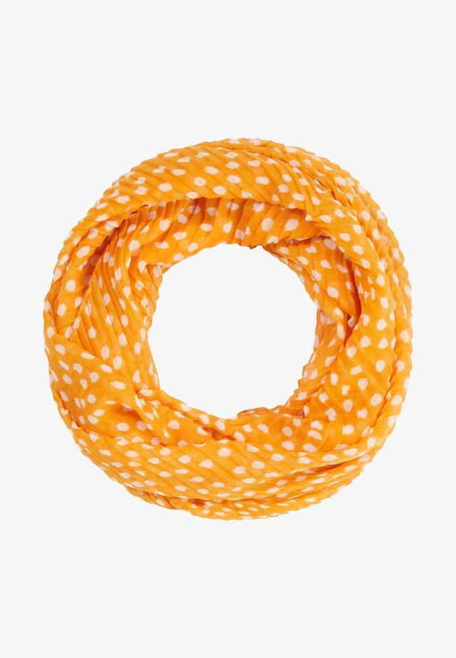 Écharpe tube - saffron dots