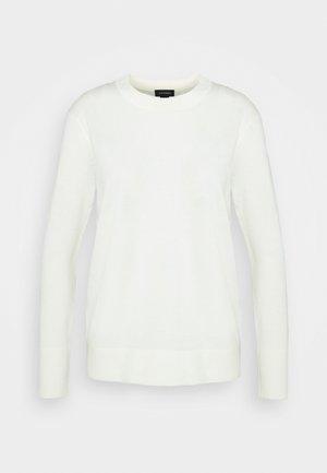 ESSENTIAL CREWNECK - Sweter - ivory