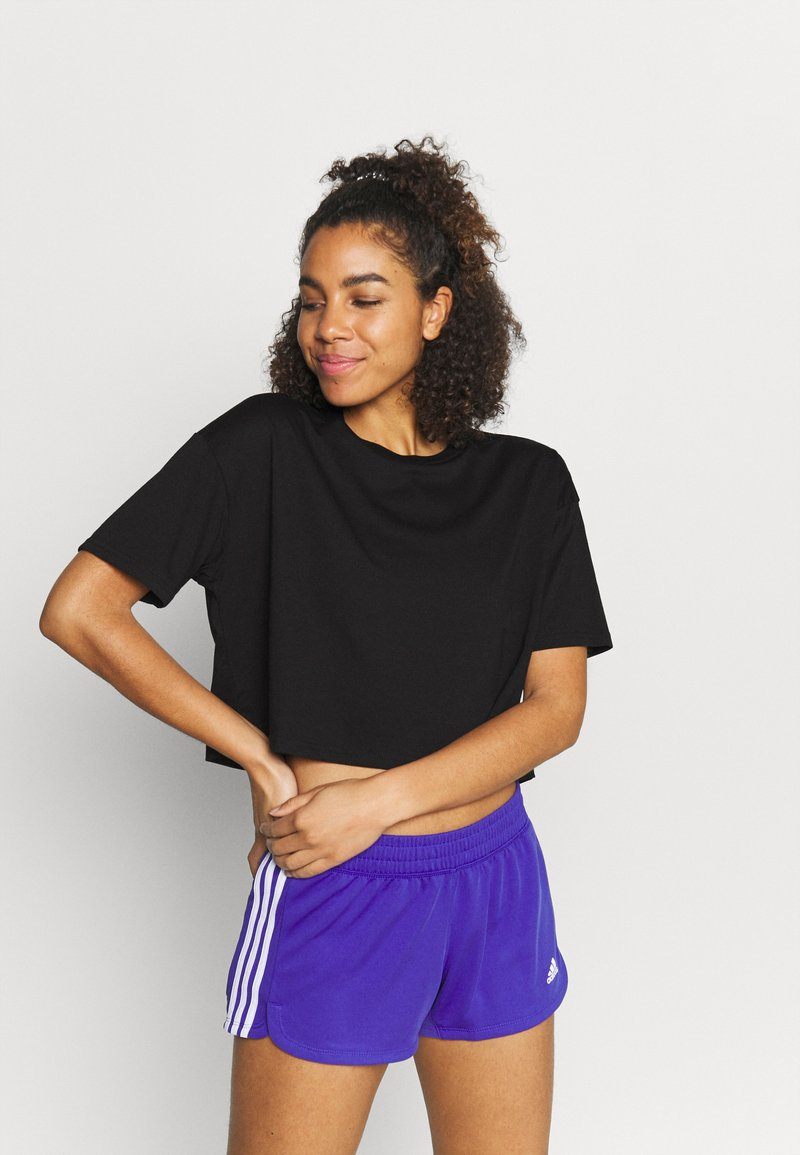 Cotton On Body - RELAXED ACTIVE - Print T-shirt - black