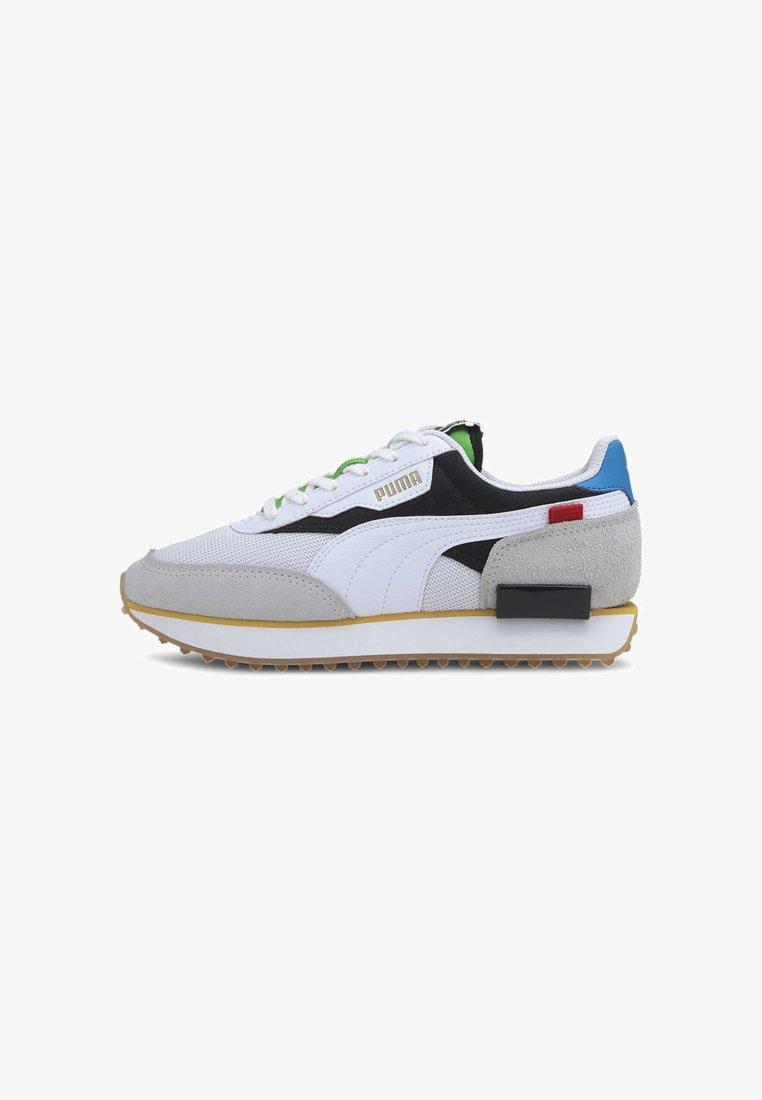 Puma - FUTURE RIDER UNITY  - Trainers - white/black