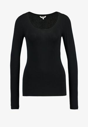ANNA - Long sleeved top - black