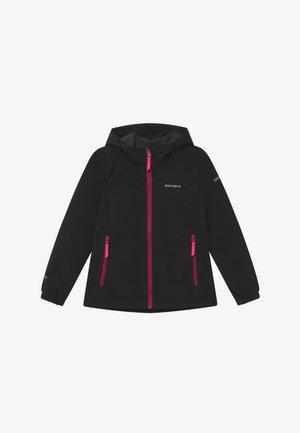 KAPPELN - Softshellová bunda - black