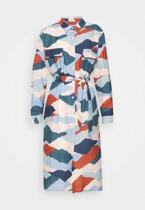 DRESS TRONDHEIM MOUNTAIN PEAKS - Skjortklänning - multicolor