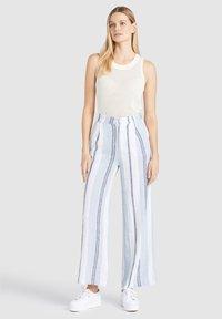 khujo - MAHSALA - Trousers - blue - 0