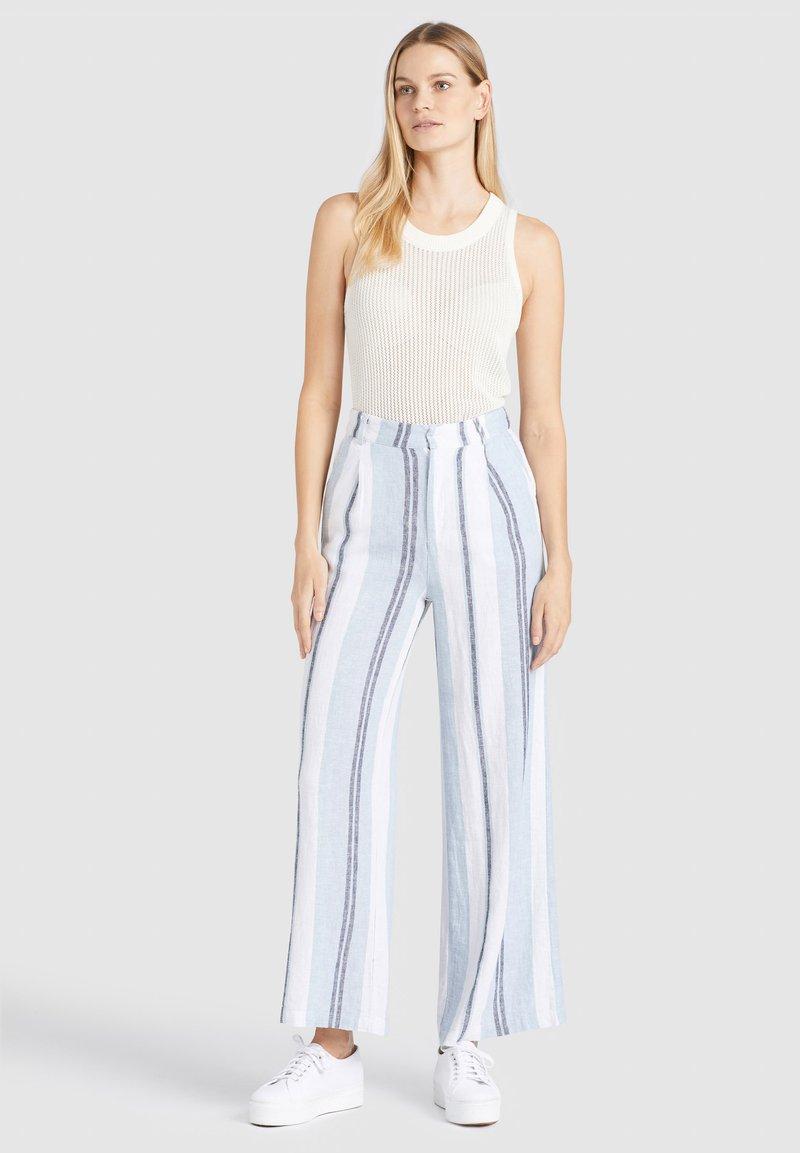 khujo - MAHSALA - Trousers - blue