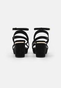 Anna Field Wide Fit - Sandály na vysokém podpatku - black - 2