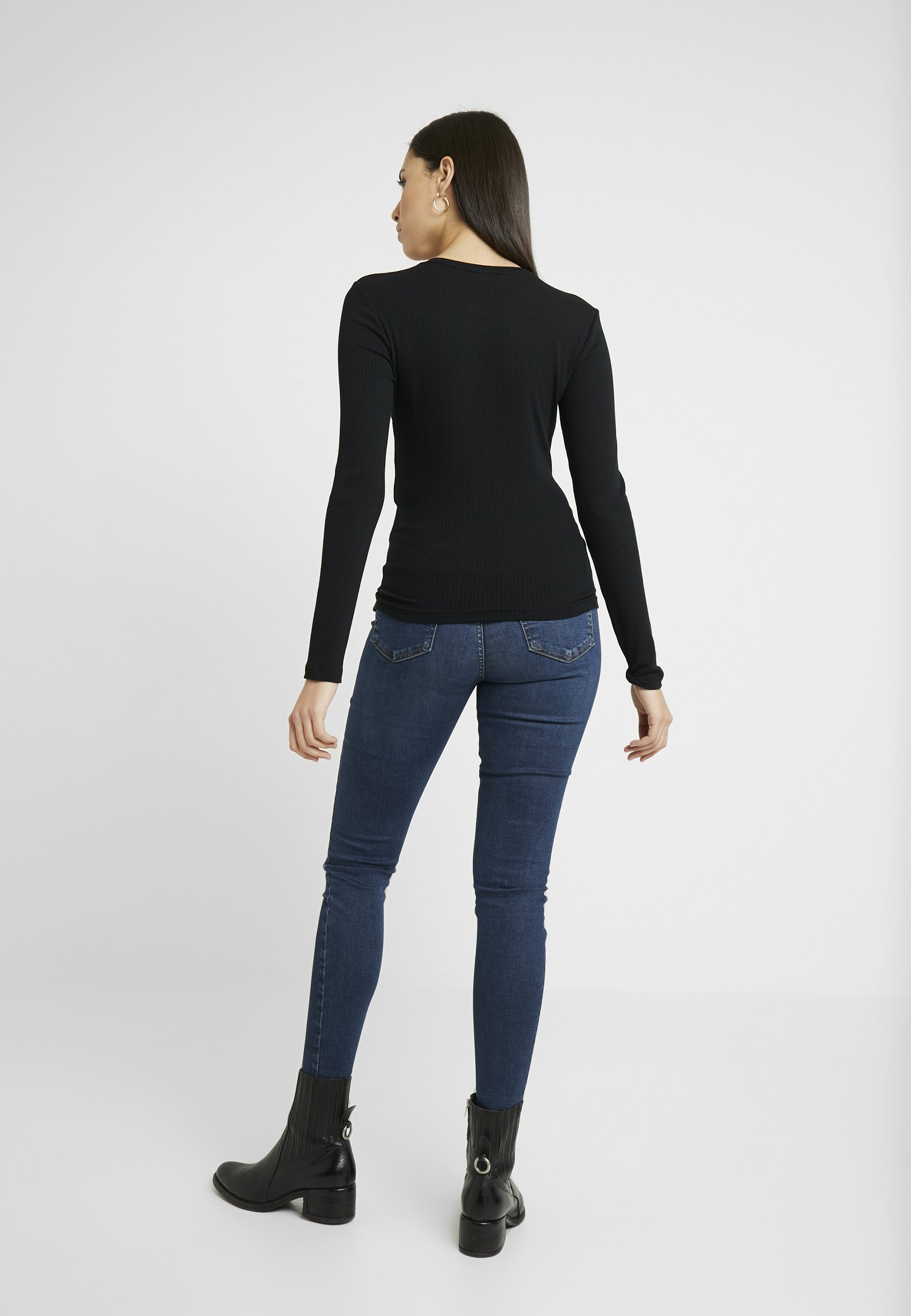 Zign Tall Jersey de punto - black p0wa5