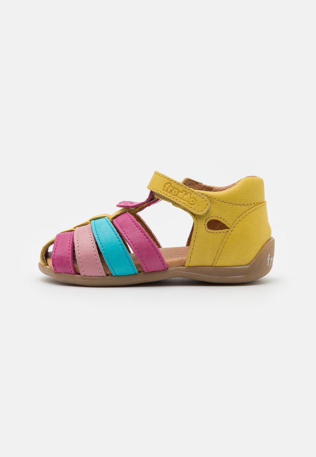 CARTE GIRLY - Sandals - yellow